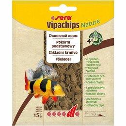 Аквариумные рыбки - SERA VIPACHIPS 15 ГР, 0