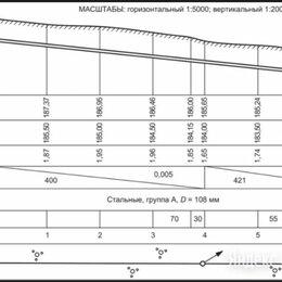 Специалисты - Помощь с исполнительными геодезическими схемами, 0