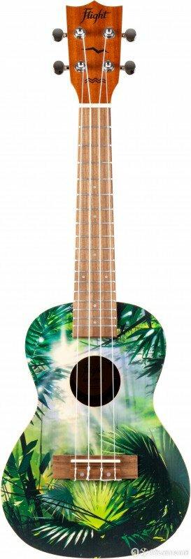 Укулеле концерт FLIGHT AUC-33 Jungle по цене 5990₽ - Акустические и классические гитары, фото 0