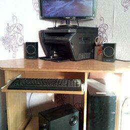 Настольные компьютеры - Компьютер офисный, можно игровой, 0