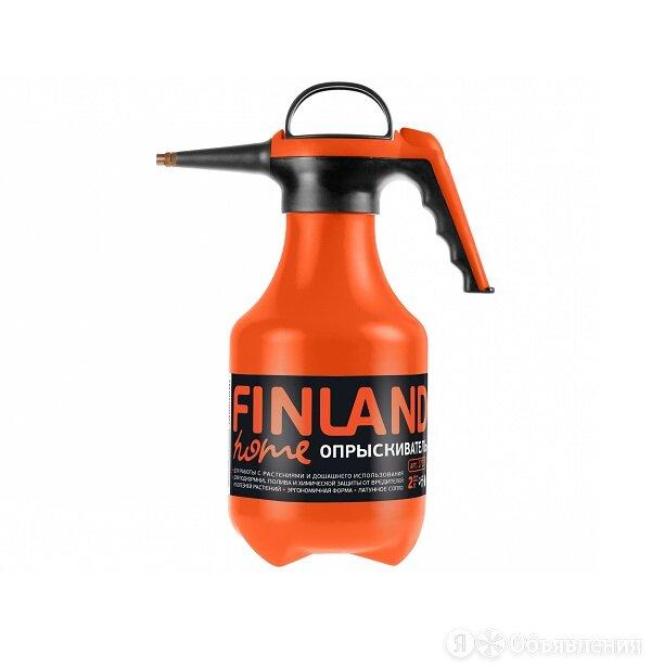 Опрыскиватель ручной Finland 2 л (оранжевый) по цене 600₽ - Ручные опрыскиватели, фото 0