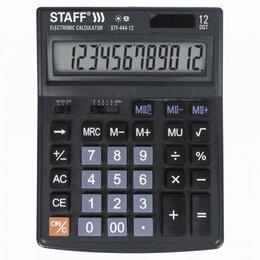 Калькуляторы - Настольный калькулятор Staff STF-444-12, 0