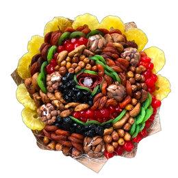 Цветы, букеты, композиции - Букет из сухофруктов и орехов, 0