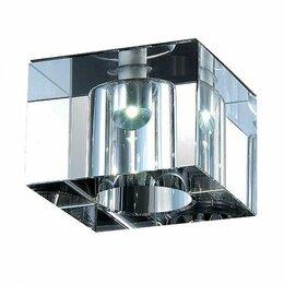Споты и трек-системы - Встраиваемый спот, укомплектован блоком питания novotech cubic-led 357013, 0