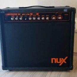 Гитарное усиление - Гитарный Моделирующий Комби Nux Frontline 30. Бесплатная Доставка, 0
