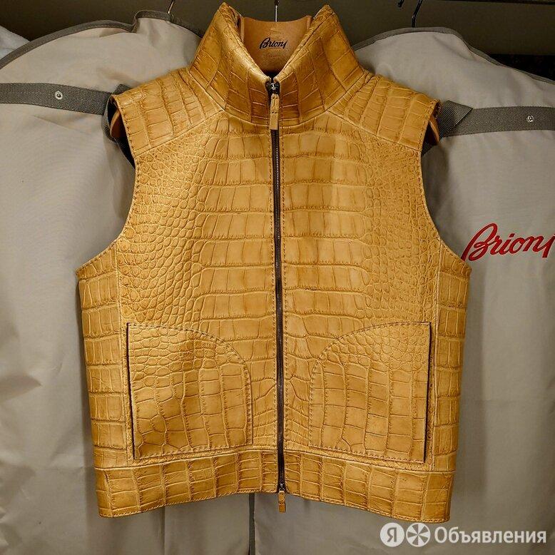 Оригинал Brioni крокодил новое сезон зима по цене 450000₽ - Куртки, фото 0