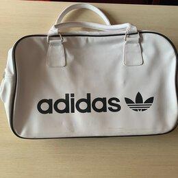 Сумки - Белая сумка адидас большая женская, 0