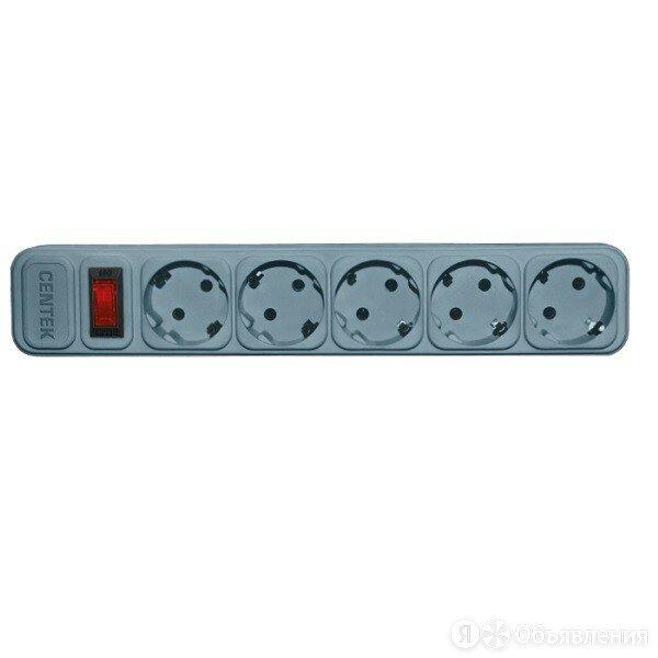 Сетевой фильтр Centek СТ-8900-5-4,5 Gray по цене 727₽ - Источники бесперебойного питания, сетевые фильтры, фото 0