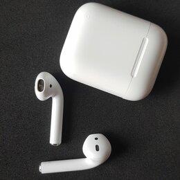 Наушники и Bluetooth-гарнитуры - Наушники беспроводные airpods, 0
