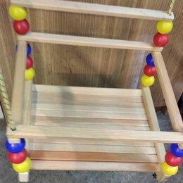 Качели - Детские деревянные качели , 0