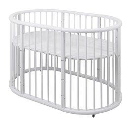 Кроватки - Овальная кроватка, 0