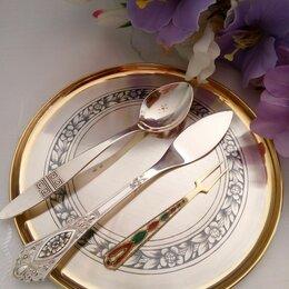 Столовые приборы - Серебряная посуда: вилка, ложка, нож, столовые приборы, 0
