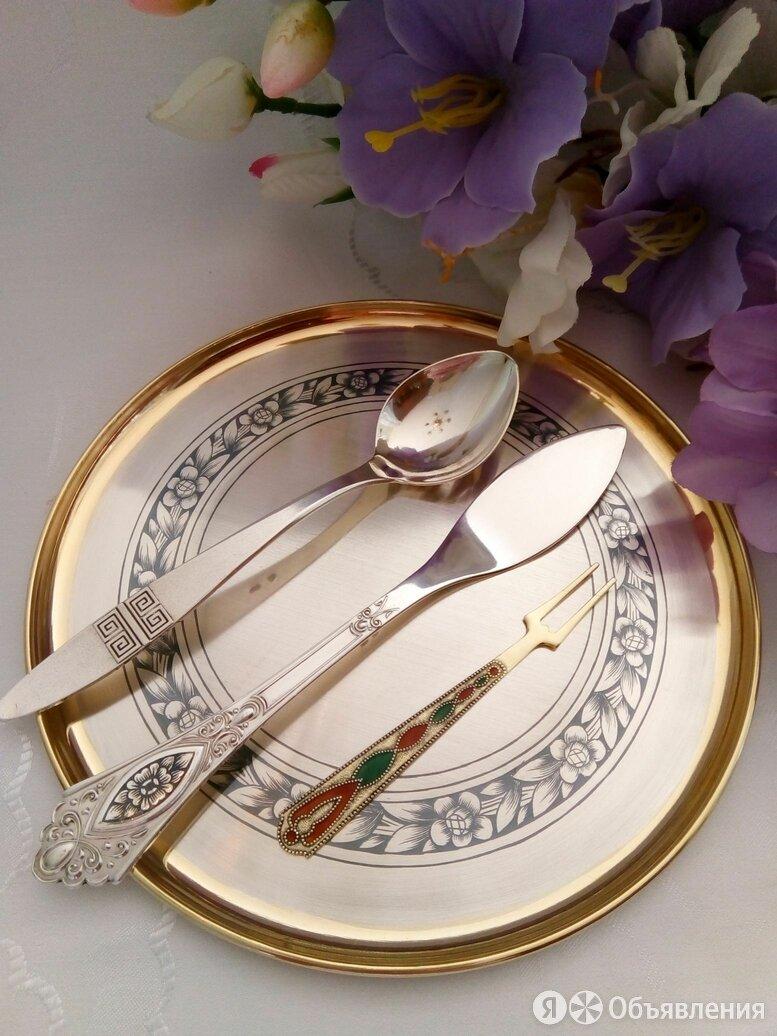 Серебряная посуда: вилка, ложка, нож, столовые приборы по цене 700₽ - Столовые приборы, фото 0