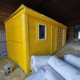 Готовые строения - Бытовка 6х2.30 с дровником А-695, 0