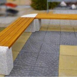 Скамейки - Скамейка бетонная Евро 1 Дабл, 0