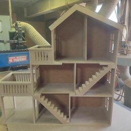 """Игрушечная мебель и бытовая техника - Кукольный домик """"Ранчо с верандой"""", 0"""