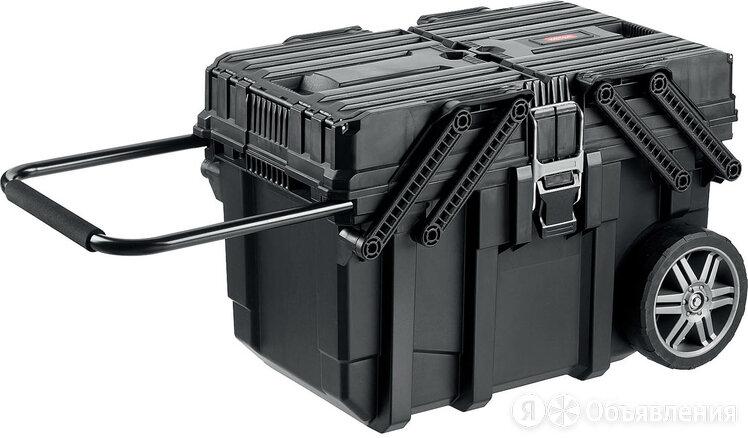 "Ящик для инструмента KETER JOB BOX пластиковый, 22"", 562х289х262, арт.38... по цене 8505₽ - Сумки, ящики и держатели для инструментов, фото 0"