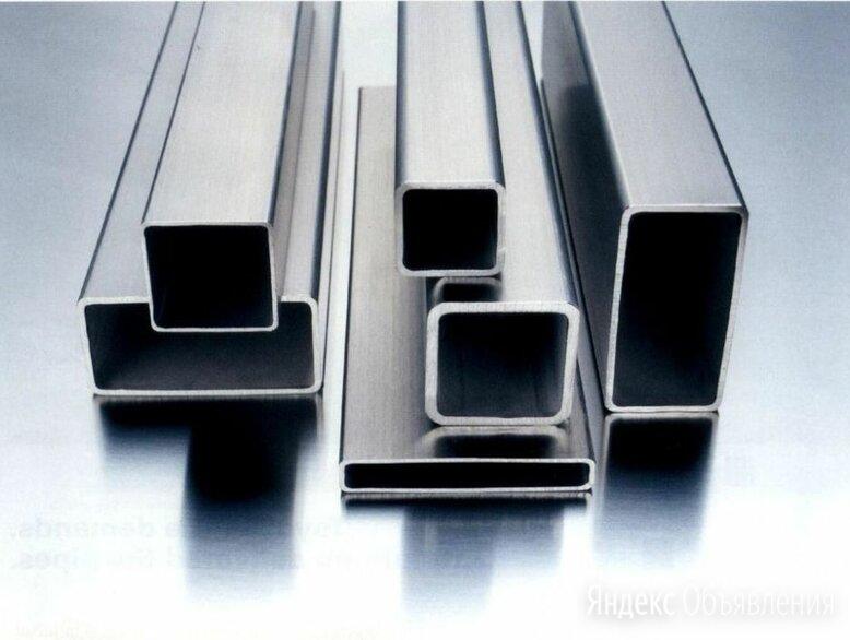 Труба алюминиевая профильная 50х40х2, АД31 по цене 672₽ - Металлопрокат, фото 0