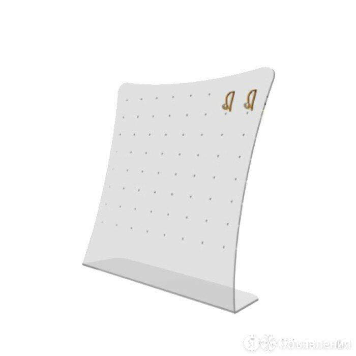 Подставка под серьги 220*210*90, оргстекло 2 мм, прозрачный по цене 559₽ - Ёмкости для хранения, фото 0