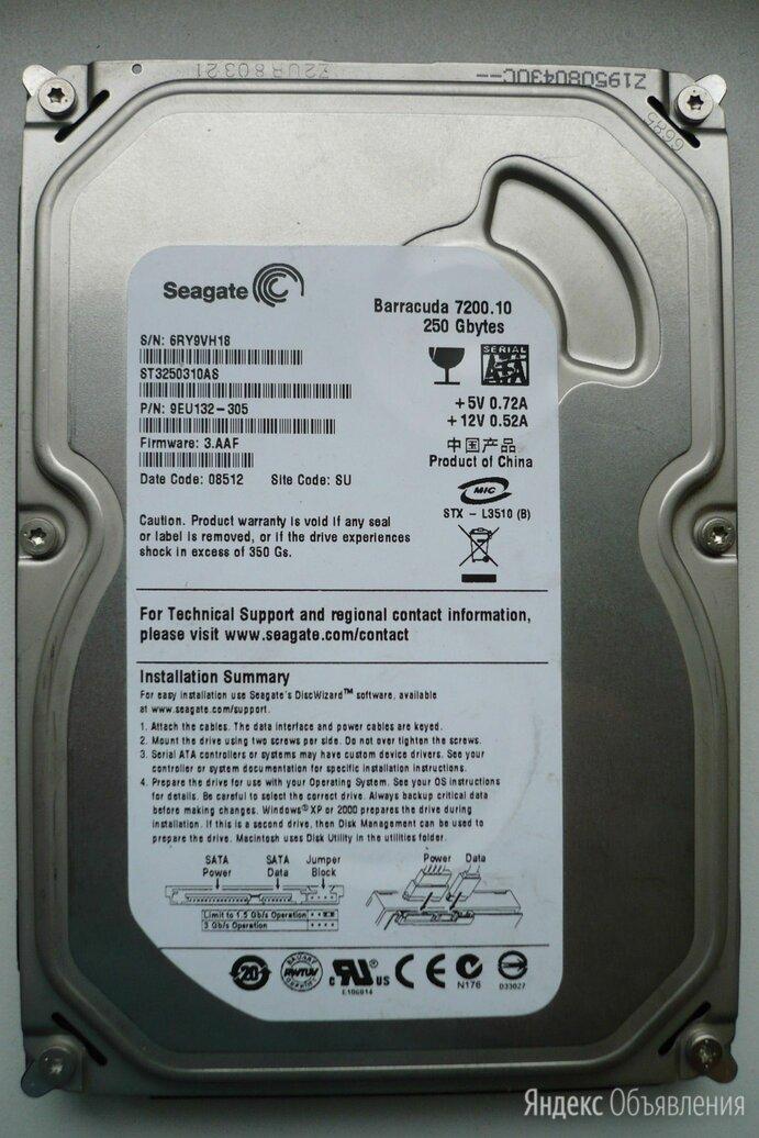 "Seagate 250Gb  SATA 3,5"" 7200 RPM 250Gb по цене 200₽ - Жёсткие диски и SSD, фото 0"