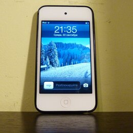 Цифровые плееры - Плеер Apple iPod touch 4 32GB, 0