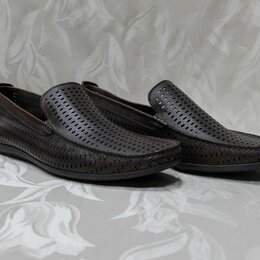 Мокасины - Плетеные мокасины мужские 46 размер, 0