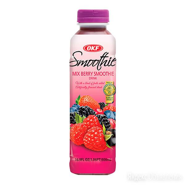 Напиток Смузи Mix Berry (черная смородина, черника, ежевика, клубника, клюква... по цене 165₽ - Продукты, фото 0