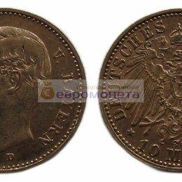 """Монеты - Германская империя Бавария 10 марок 1911 год """"D"""" Отто I. Золото v00023, 0"""