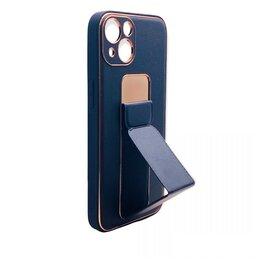 Защитные пленки и стекла - ЧЕХОЛ ДЛЯ iPhone 13  LUXURY С РУЧКОЙ (ЧЕРНЫЙ), 0