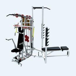 Тренажеры со встроенными и свободными весами - Силовой комплекс СВ-МС01, 0