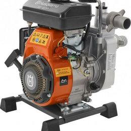 Мотопомпы - Мотопомпа бензиновая HUSQVARNA W40P для слабозагрязненной воды 9676389-02 [96..., 0