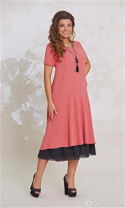 Платье женское, размер 54, артикул ВК-7973 VITTORIA QUEEN ВК-7973 по цене 4650₽ - Платья, фото 0