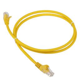Аксессуары и запчасти для оргтехники - Патч-корд LANMASTER LAN-PC45/U5E-2.0-YL, 0