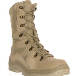 Ботинки - Берцы кожаные бежевые УС-БОТ386, 0