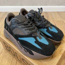 Кроссовки и кеды - Adidas yeezy boost 700 carbon blue, 0