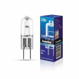 Лампочки - Галогенная лампа Camelion JC G4 12V 20W, 0