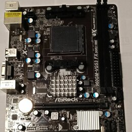 Материнские платы - ASRock 960GM-VGS3 FX  -Soc. AM3+, 0