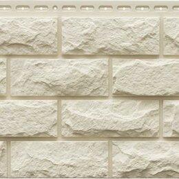 Фасадные панели - Фасадная панель Grand Line Колотый камень Стандарт Молочный, 0
