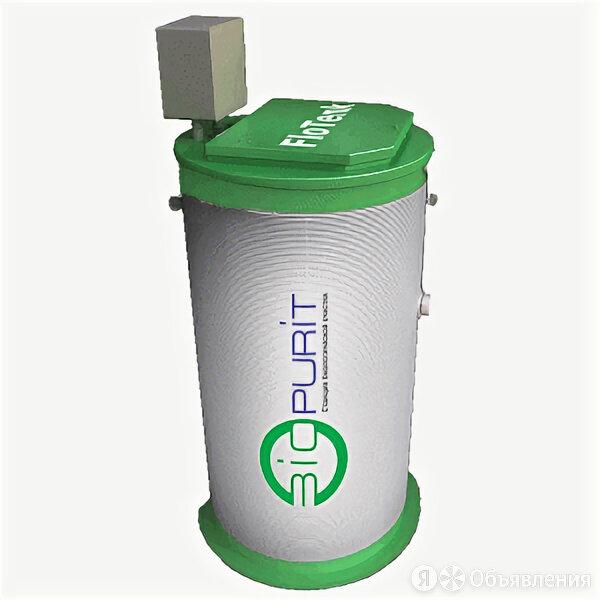 Станция биологической очистки FloTenk BioPurit (Биопурит) 5 с подводящей труб... по цене 125000₽ - Химические средства, фото 0
