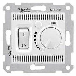 Отопительные системы - Термостат теплого пола Schneider Electric Sedna 10A 230V SDN6000321, 0