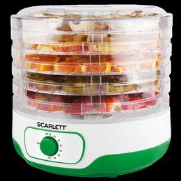 Сушилки для овощей, фруктов, грибов - Сушка для фруктов и овощей scarlett sc-fd421011, 0