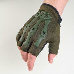Перчатки и варежки - Перчатки тактические хаки Краги, 0