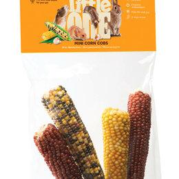 Лакомства  - LITTLE ONE Мини кукуруза лакомство для грызунов 130г , 0