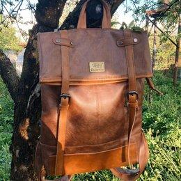 Рюкзаки - Рюкзак из экокожи , 0