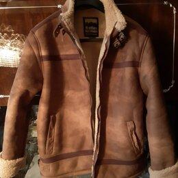 Куртки -  замшевая куртка с мехом мужская, пуховик мужской, очень теплый, 0