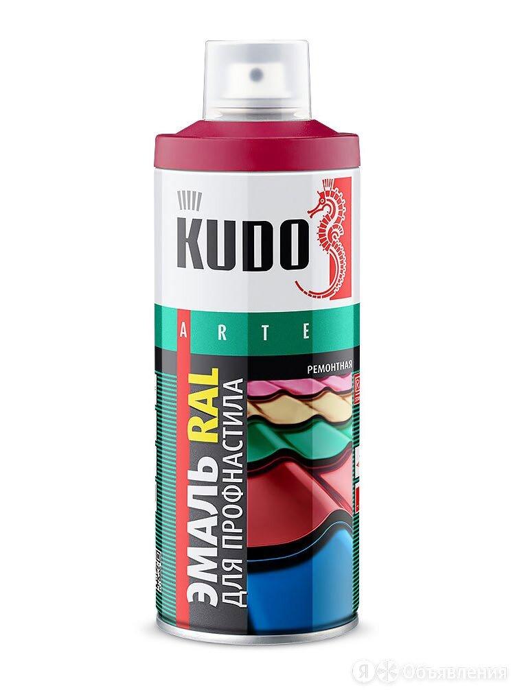 Аэрозоль KUDO для металлочерепицы и профнастила RAL 8017 Шоколад, 520 мл. по цене 350₽ - Краски, фото 0