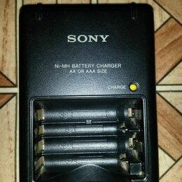 Зарядные устройства и адаптеры питания - Зарядное уст-во Сони для АА аккумуляторов, 0