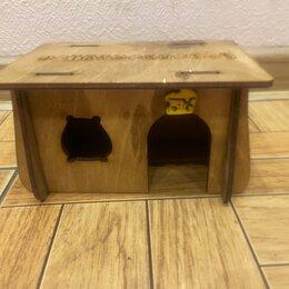Клетки и домики  - Домик для грызунов green farm 18х13.5х12 см, 0