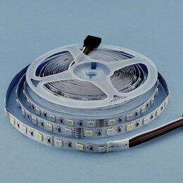 Светодиодные ленты - Лента светодиодная  60LED 12В 14,4Вт/м IP20 RGB+W, 0