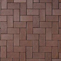 Садовые дорожки и покрытия - Тротуарная клинкерная брусчатка ABC-Klinkergruppe Schwarz Braun коричневая, 0